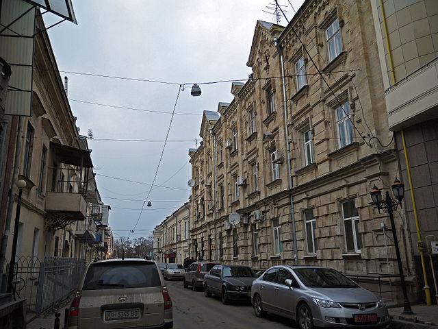 Одеса, вулиця Лєха Качинського