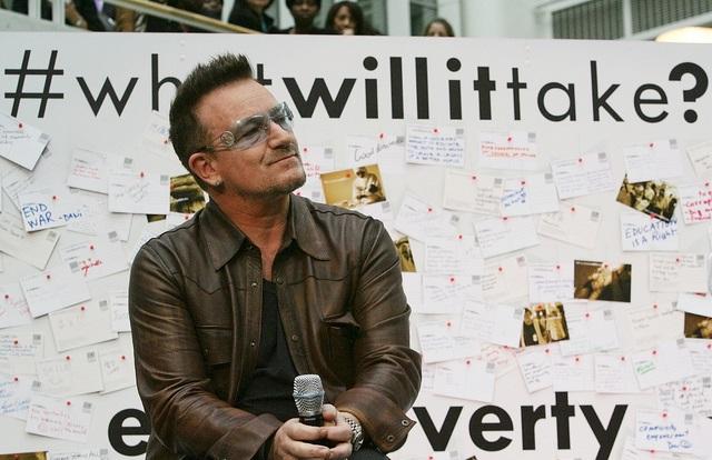 Bono. Photo: World Bank Photo Collection/Flickr.com