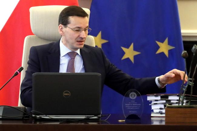PM Mateusz Morawiecki. Photo: PAP/Paweł Supernak