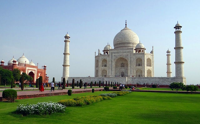 The Taj Mahal in India. Photo: Pixabay.com