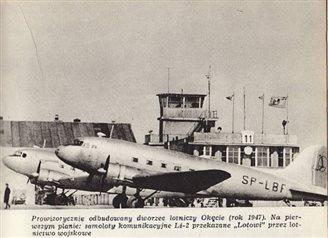 73 гады таму авіякампаніі LOT узнавіла палёты пасьля вайны (ФОТА)