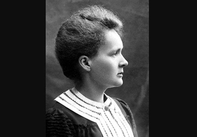 Marie Skłodowska-Curie's 1903 Nobel Prize portrait. Photo: Wikimedia Commons (Public Domain)