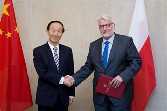 Polish-Chinese consultations in Warsaw