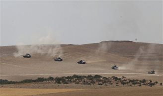 Турцыя пачала ў Сырыі апэрацыю супраць ІД
