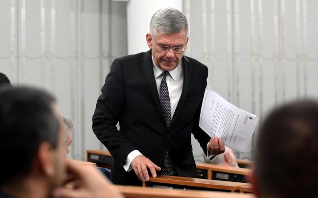 Senate Speaker Stanisław Karczewski. Photo: PAP/Bartłomiej Zborowski