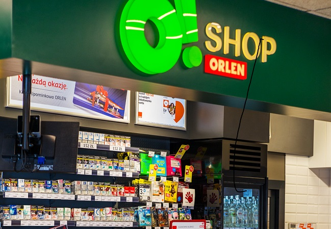 O!Shop, a retail store in one of PKN Orlen's service stations. Photo: PKN Orlen