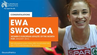 Polish sportspeople chosen as 'Athletes of the month'