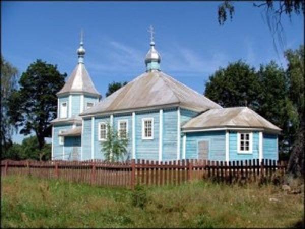 Мурыны Малыя. Царква Святога Мікалая (1863) Агульны выгляд.