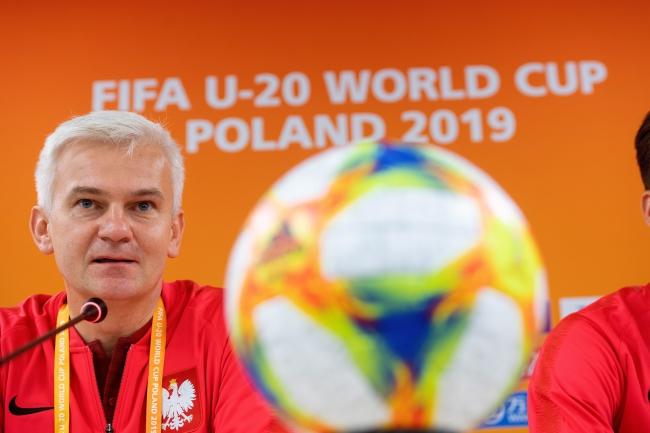 Poland's U-20 football team manager Jacek Magiera.