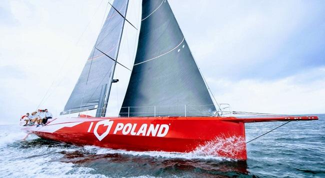 Jacht I LOVE POLAND   Foto: Fundacja_ PFN / Twitter