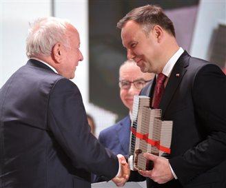 Президент Польши наградил лучших предпринимателей