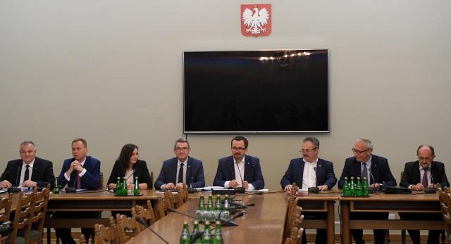 Заседание комиссии по расследованию взимания НДС и акцизов