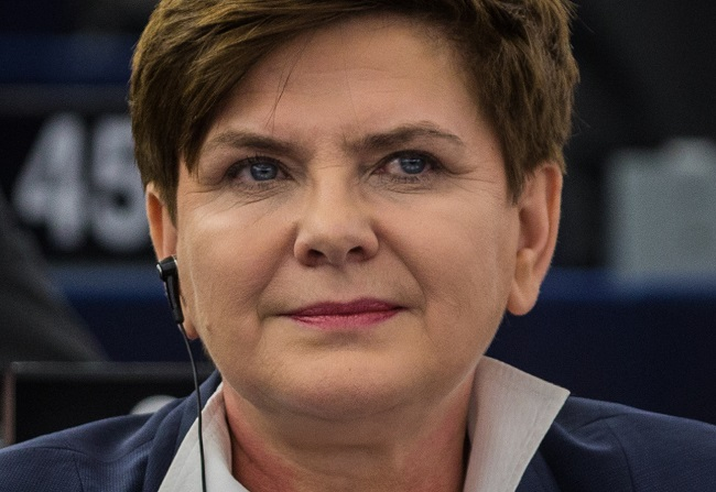 Polish Deputy Prime Minister Beata Szydło