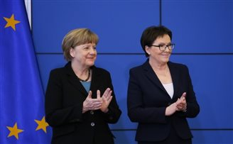 Bartoszewski remembered at German-Polish summit