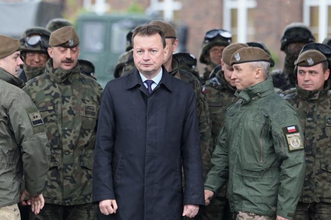 Міністр національної оборони Польщі Маріуш Блащак, Ґлівиці, 15 травня 2019 року