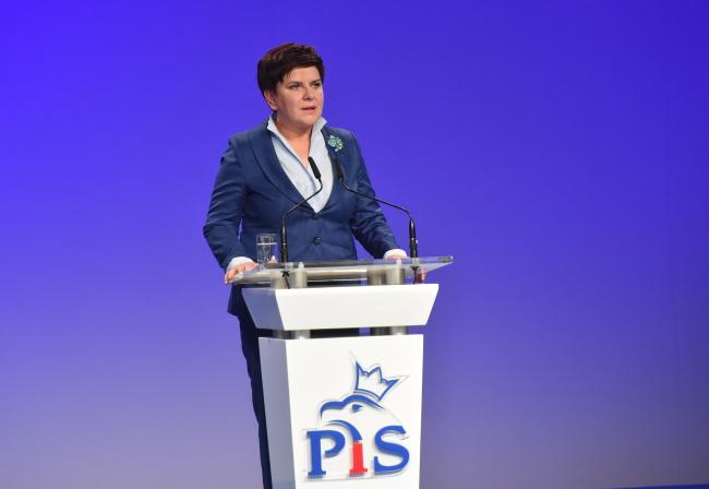 Polish Prime Minister Beata Szydło. Photo: PAP/Jacek Bednarczyk