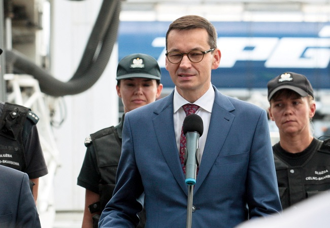 Mateusz Morawiecki. Photo: PAP/Lech Muszyński.