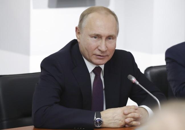 Russian President Vladimir Putin. Photo: EPA/MICHAEL KLIMENTYEV