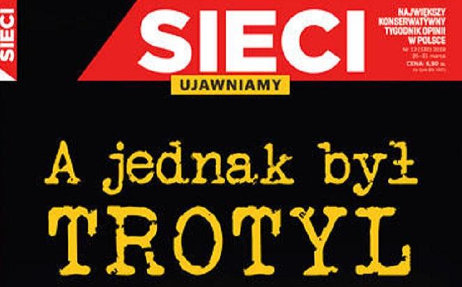 Фрагмент обложки издания Sieci