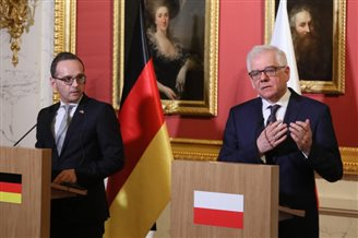 "Poland and Germany ""irreplaceable neighbours"": German FM"