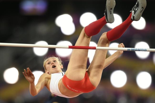 Kamila Lićwinko. Photo: EPA/FRANCK ROBICHON.