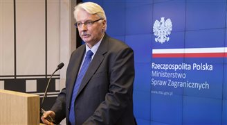 Szef MSZ: Polska nie toczy sporu z Ukrainą