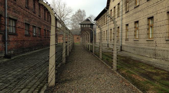 Територія колишнього німецького нацистського концтабору Аушвіц