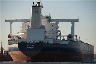 Iranian oil 'supertanker' arrives in Gdańsk