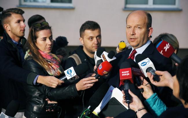 Health Minister Konstanty Radziwiłł. Photo: PAP/Tomasz Gzell