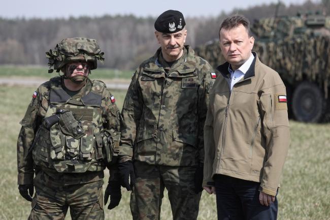 Міністр національної оборони Польщі зустрівся з солдатами