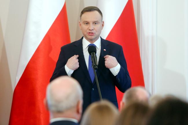 Andrzej Duda. Photo: PAP/Adam Guz.