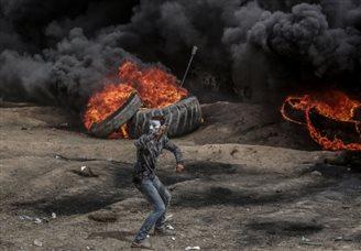 Ізраільскія жаўнеры адкрылі агонь да ўдзельнікаў пратэсту