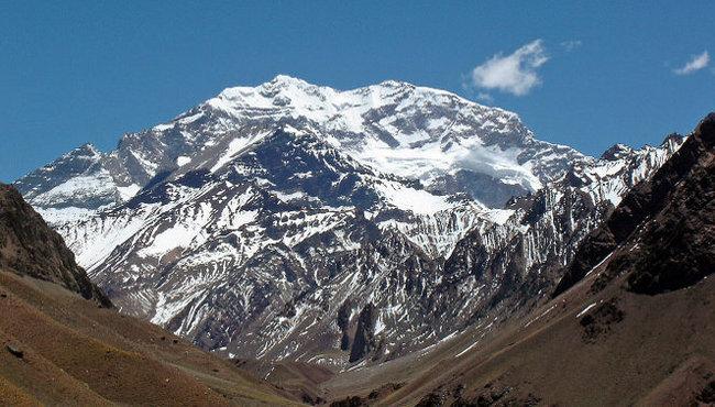 Aconcagua. Photo: wikimedia commons/Mariordo Mario Roberto Duran Ortiz