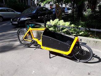 Грузавая рэвалюцыя: Эўропа мяняе дызэль на cargo-bike