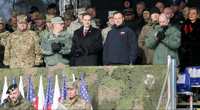 Инаугурация польско-американских военных учений на полигоне Жагань.