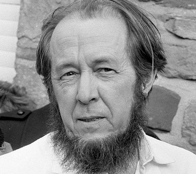 Александр Солженицын в 1974 году.