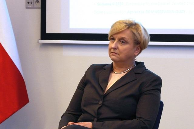 Minister Anna Fotyga