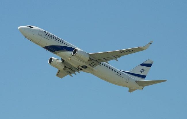 Самалёт Boeing 737-800 ізраільскай дзяржаўнай авіякампаніі El-Al