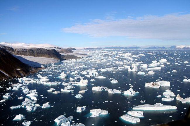 Тающие арктические льды