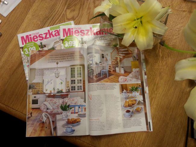 "Номера журнала ""Моя квартира"" (Moje Mieszkanie)."