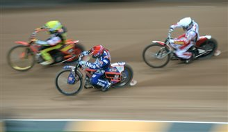 Speedway competition cancelled halfway