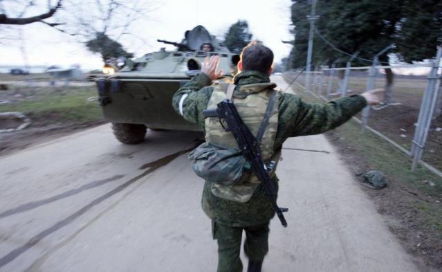 Rosyjskie wojsko. Zdjęcie ilustracyjne
