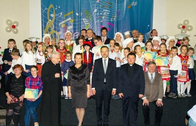 Senator Artur Warzocha, wiceprzewodniczący Komisji Spraw Emigracji i Łączności z Polakami za Granicą, podczas I Festiwalu Muzyki i Tańca Polskiego w Moskwie