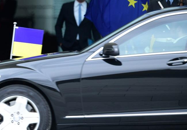Автомобиль президента Украины