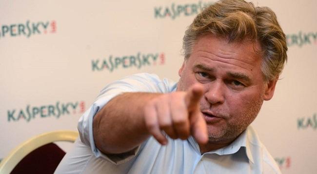 Jewgienij Kasperski, dziś szef firmy informatycznej, były oficer wywiadu wojskowego, szkolony przez KGB, poprzedniczkę FSB    Foto: PAP/EPA/Katerina Sulova