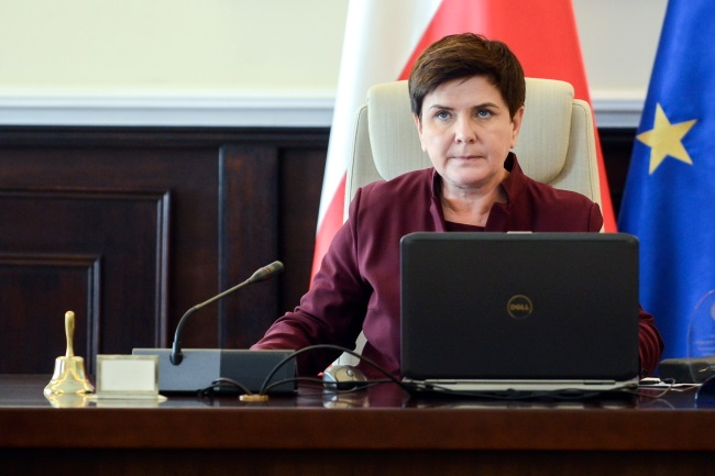 Polish PM Beata Szydło. Photo: PAP/Jakub Kamiński