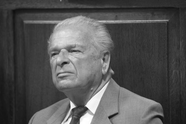 Czesław Kiszczak in court in 2009. Photo: PAP/Leszek Szymański