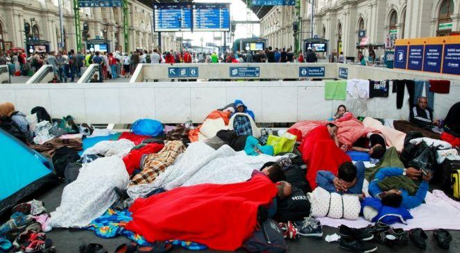 Іммігранти на вокзалі у Будапешті