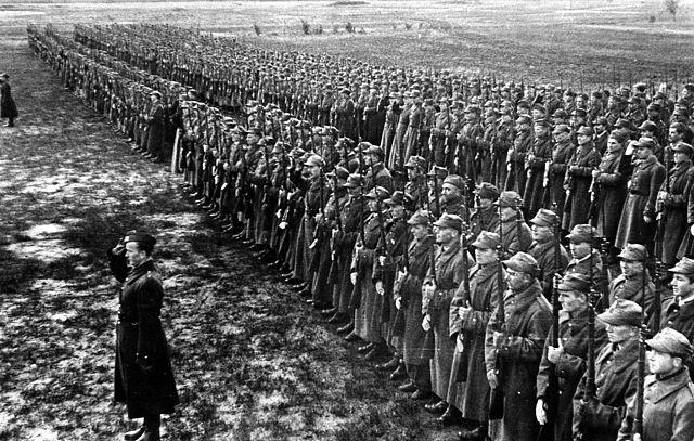 Żołnierze Armii Andersa w 1942 roku