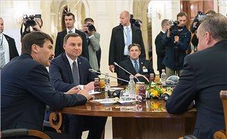 Duda at V4 summit: migration crisis a 'problem for the entire EU'